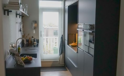 Moderne keuken – opstelling voor kleine ruimte